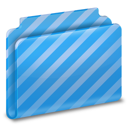 256x256px size png icon of Generic Stripes