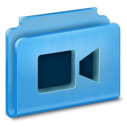 256x256px size png icon of Videos