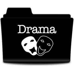 256x256px size png icon of Drama
