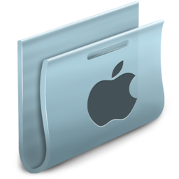 256x256px size png icon of Apple Folder