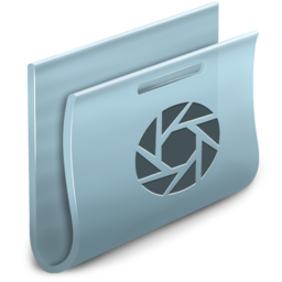 256x256px size png icon of Camera Folder 2