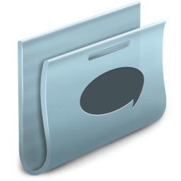 256x256px size png icon of Chats Folder
