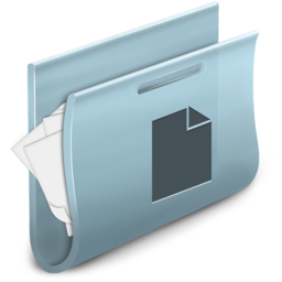 256x256px size png icon of Documents Folder 2