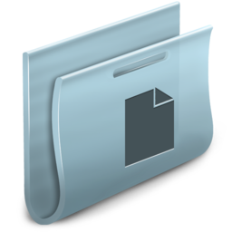 256x256px size png icon of Documents Folder