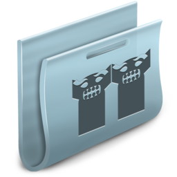 256x256px size png icon of Groups Folder