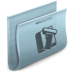 256x256px size png icon of Library Folder