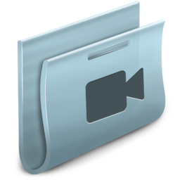 256x256px size png icon of Movies Folder