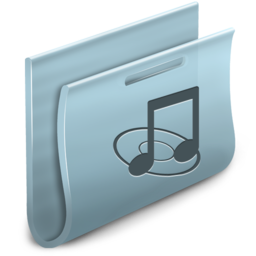 256x256px size png icon of Music Folder 2
