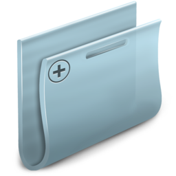 256x256px size png icon of New Folder