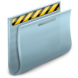 256x256px size png icon of Private Folder