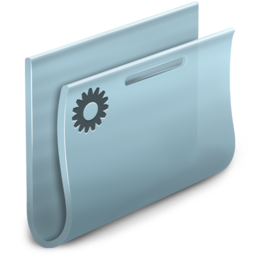 256x256px size png icon of Smart Folder simple 2