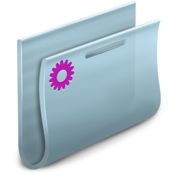 256x256px size png icon of Smart Folder simple