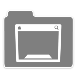 256x256px size png icon of Opacity Folder Dasktop