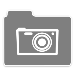 256x256px size png icon of Opacity Folder Photo
