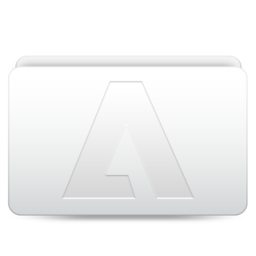 256x256px size png icon of Adobe Folder
