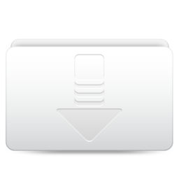 256x256px size png icon of Downloads   Alt