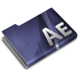 256x256px size png icon of Adobe After Effects CS3 Overlay