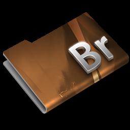 256x256px size png icon of Adobe Bridge CS3 Overlay