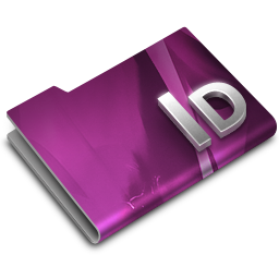 256x256px size png icon of Adobe InDesign CS3 Overlay