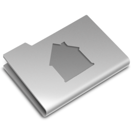 256x256px size png icon of Home Folder