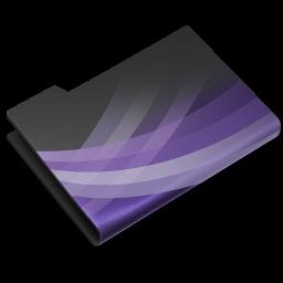 256x256px size png icon of Entourage Dark