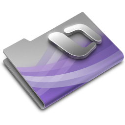 256x256px size png icon of Entourage Overlay
