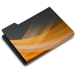 256x256px size png icon of Powerpoint Dark