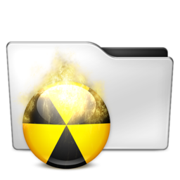 256x256px size png icon of Burnable