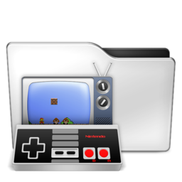 256x256px size png icon of Games