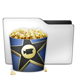 256x256px size png icon of Movies ALT