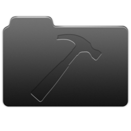 256x256px size png icon of Developer Carbon