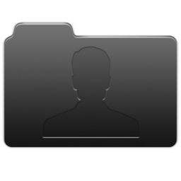 256x256px size png icon of User Carbon