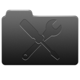256x256px size png icon of Utilities Carbon