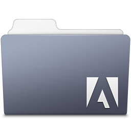 256x256px size png icon of Adobe Encore Folder
