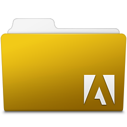 256x256px size png icon of Adobe Fireworks Folder