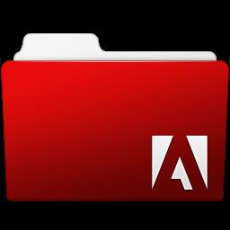 256x256px size png icon of Adobe Flash Folder