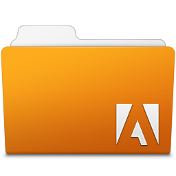 256x256px size png icon of Adobe Illustrator Folder