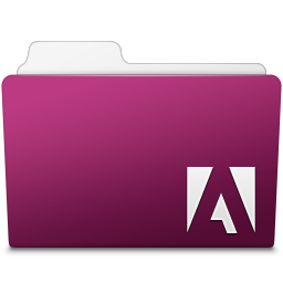 256x256px size png icon of Adobe InDesign Folder