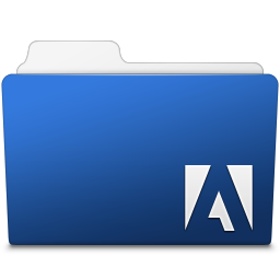 256x256px size png icon of Adobe Photoshop Folder