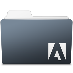 256x256px size png icon of Adobe Photoshop Lightroom Folder