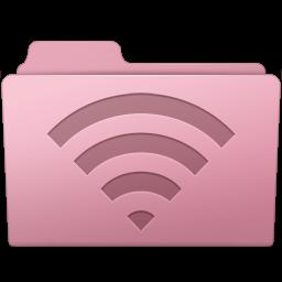 256x256px size png icon of AirPort Folder Sakura