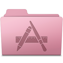 256x256px size png icon of Applications Folder Sakura