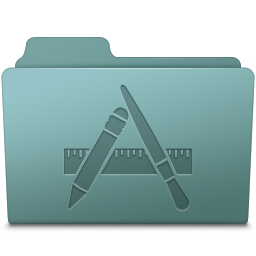 256x256px size png icon of Applications Folder Willow