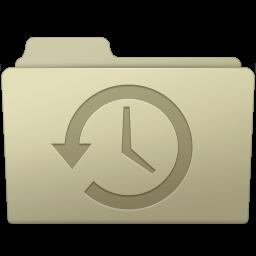 256x256px size png icon of Backup Folder Ash