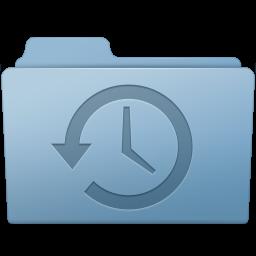 Backup Folder Blue Vector Icons Free Download In Svg Png Format