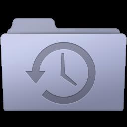 256x256px size png icon of Backup Folder Lavender