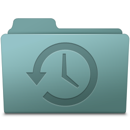 256x256px size png icon of Backup Folder Willow