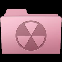 256x256px size png icon of Burnable Folder Sakura