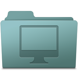 256x256px size png icon of Computer Folder Willow