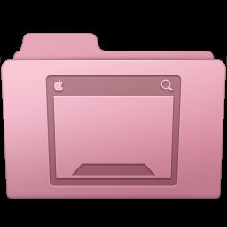 256x256px size png icon of Desktop Folder Sakura